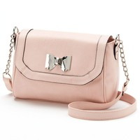 Candie's Bow Crossbody Bag