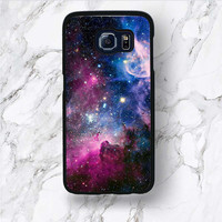 Samsung Galaxy S8 Plus Case, Space Hipster S7 Edge S6 Active Mystery, Milky Way Universe Energy Graphic Design Samsung S8+ S5 mini Cover
