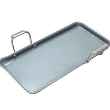 Chantal Induction 21 Steel Heavy-Gauge Tri-ply Griddle with Ceramic Coating