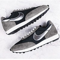 Nike Air Tailwind 79 Beterue waffle shoes breathable cloth fashion running shoes grey silder