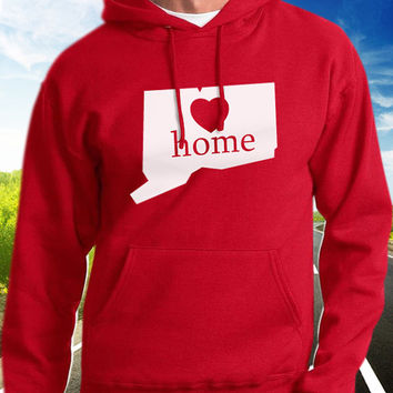 Connecticut Home Hoodie - State Pride - Home - Clothing
