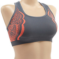 Half Moon Active by Modern Movement Seamless Jacquard Sports Bra