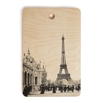 Bianca Green VINTAGE PARIS AROUND 1900 Cutting Board Rectangle