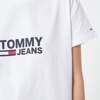 Tommy Jeans Classic Logo Tee | Urban Outfitters