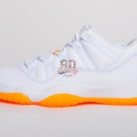 Air Jordan Retro XI 11 Low 'Citrus' Boys GS