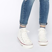 Converse Chuck Taylor All Star White Winter Knit Trainers