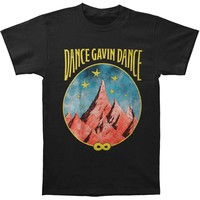 Dance Gavin Dance Men's  Mountain Stars T-shirt Black