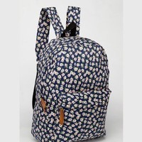 CrazyPomelo Sweet Little Flowers Cotton Cloth Backpack