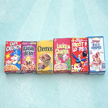 cereal box necklace