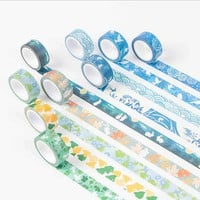 1.5cm*7m Japanese style washi tape DIY decoration scrapbooking planner masking tape adhesive tape label sticker stationery