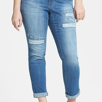 Jessica Simpson 'Weekend' Straight Leg Jeans (Plus Size)   Nordstrom