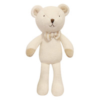 Bebe The Baby Bear Organic Cotton Lovey Toy - Small