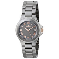 Invicta 14569 Women's Grey Dial Gunmetal Ceramic Bracelet Quartz Watch