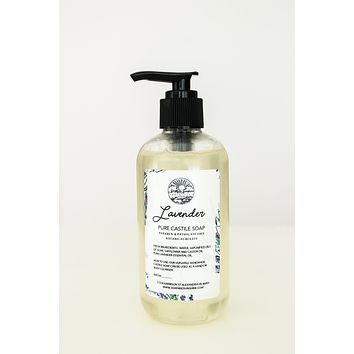 Soap & Sunshine Pure Castile Soap - Lavender