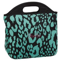 Gear-Up Pool Cheetah Tote Lunch Bag