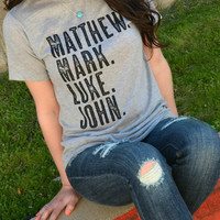 Matthew Mark Luke John Tee