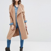 Only | Only Soft Wrap Coat at ASOS