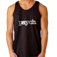 Psych For Mens Tank Top ***