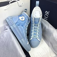 Dior Translucent PVC High-top Sneaker