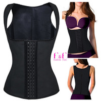 Sport Latex Rubber Waist Cincher Trainer Hot Body Shaper Fast Weight Loss Girdle Slimming Belt Waist Training Corsets Shaperwear