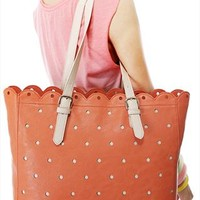 Fashion Cute Hole Hollow Out Lace Handbag from styleonline