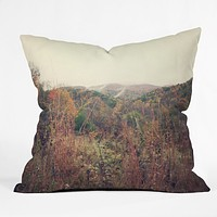 Catherine McDonald Autumn In Appalachia Throw Pillow