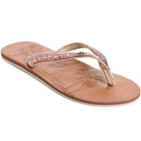 Roxy Chia II Brown Sandals
