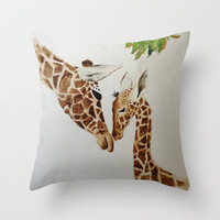 Mother's Love Throw Pillow by Jaclyn Celeste