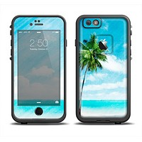 The Paradise Beach Palm Tree Apple iPhone 6/6s LifeProof Fre Case Skin Set