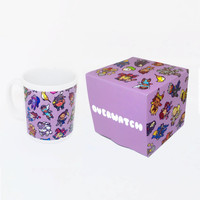 Overwatch Pattern ~ Blizzard ~ Mug and Box Set