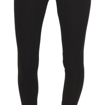 7 for all mankind | high waist skinny (black double knit)
