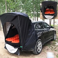 Car Rear Roof Outdoor Equipment Camping Tent Canopy Tail Picnic Awning For Land Rover Discovery Sport Range Rover Evoque