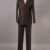 Doctor Who 11th Doc. Brown Pinstripe Costume Custom-made