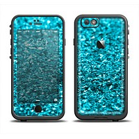 The Turquoise Glimmer Apple iPhone 6 LifeProof Fre Case Skin Set
