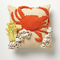 Anthropologie - Hand-Crocheted Grotto Pillow