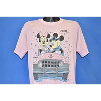 80s Mickey Mouse Minnie Convertible t-shirt Large