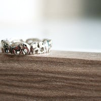 Elephant Silver Ring Sterling Ring .925 Silver Ring Personalized Ring