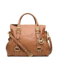 Lea Large Leather Satchel | Michael Kors