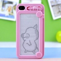 Fashionwoman — C0reative Drawing protective IPhone 4/4s case cover