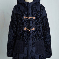 Statement Long Long Sleeve Warmth's a Brewin' Coat