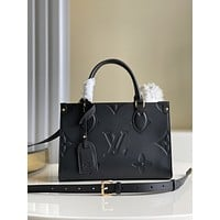 LV Louis Vuitton M45655 MINI On The Go Monogram WOMEN'S LEATHER Tote SHOULDER BAG
