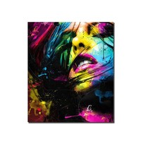 Star Sexy woman HD painting printed on canvas art wall picture for bed room sitting room home decor