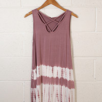 Final Song Tie Dye Dress