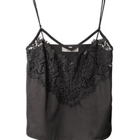 Lace trim cotton camisole | Lover | MATCHESFASHION.COM
