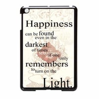 Harry Potter Happiness Quote iPad Mini Case