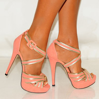 NEW LADIES STRAPPY SANDALS PLATFORMS STILETTO HIGH HEELS SHOES SIZES 3,4,5,7,8