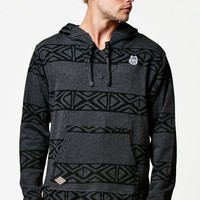 Neff Up North Wolf Pullover Hoodie - Mens Jacket - Black