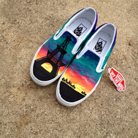 Custom Canvas Vans Shoes