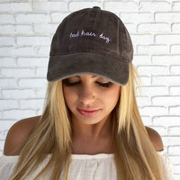 Bad Hair Day Hat in Charcoal
