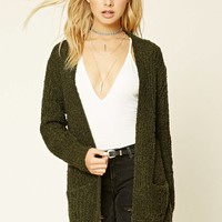 Longline Loop Knit Cardigan